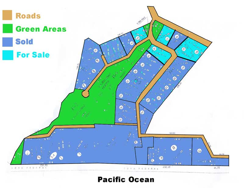 Pantla Beach Plat Map