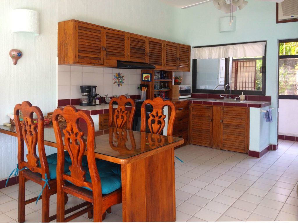 Kitchen and Dining Punta Peñasco Penthouse