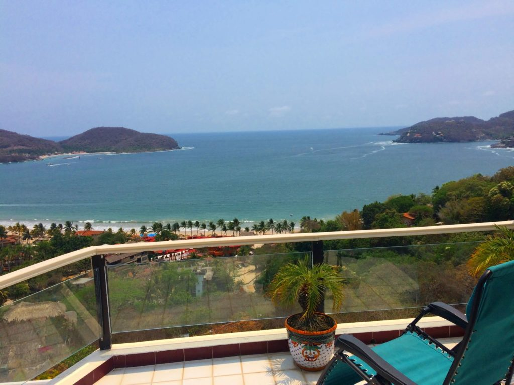 Zihuatanejo Bay view