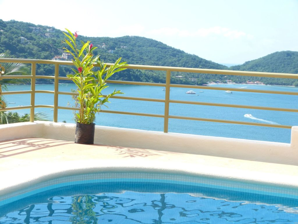 Pool view of bay