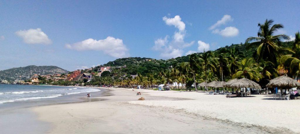 Main Beaches Of Ixtapa And Zihuatanejo